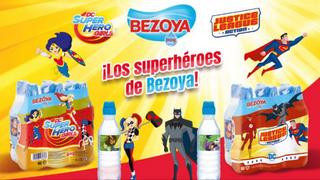 Bezoya se 'viste' de superhéroe