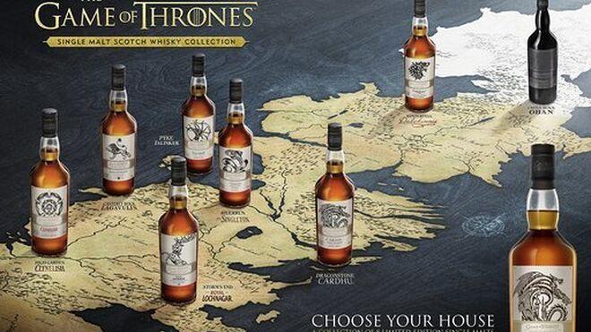 Diageo lleva sus whiskies a Poniente: la bebida de Juego de Tronos