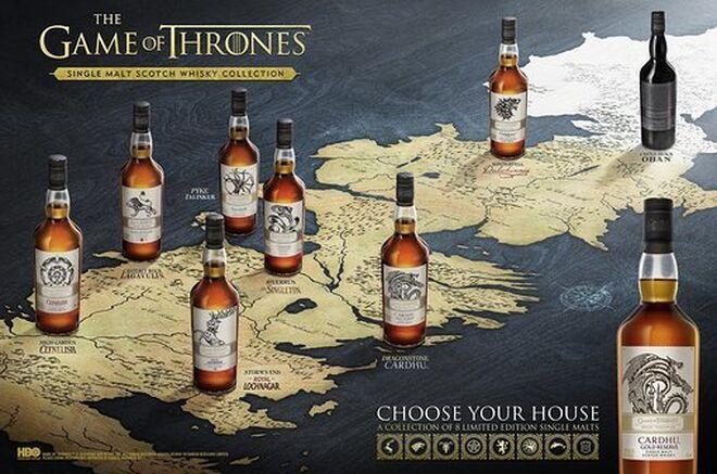 Diageo Lleva Sus Whiskies A Poniente La Bebida De Juego De Tronos