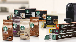Nestlé llevará cápsulas de Starbucks a casa del consumidor