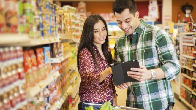 Los alimentos tiran del crecimiento de ventas en el comercio minorista