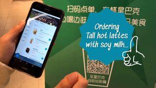 Starbucks lanza su quiosco autoservicio de café en China