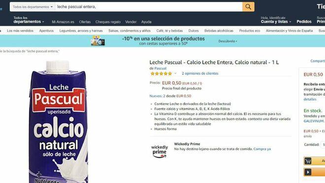 Denuncian la presunta venta a pérdidas de leche en Amazon