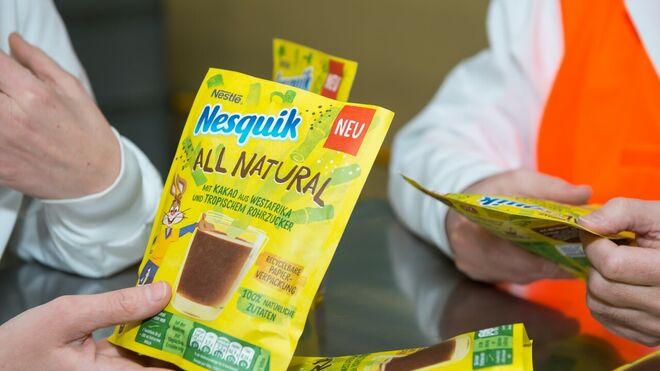 Nestlé se deshace del plástico con su 'Nesquik de papel'