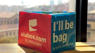 Ulabox hace frente al plástico con 'la bolsa que vuelve'