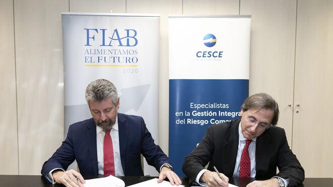 Fiab y Cesce sellan su alianza para internacionalizar las empresas del sector
