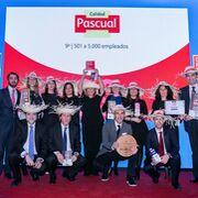 Calidad Pascual, en la cima de las mejores para trabajar
