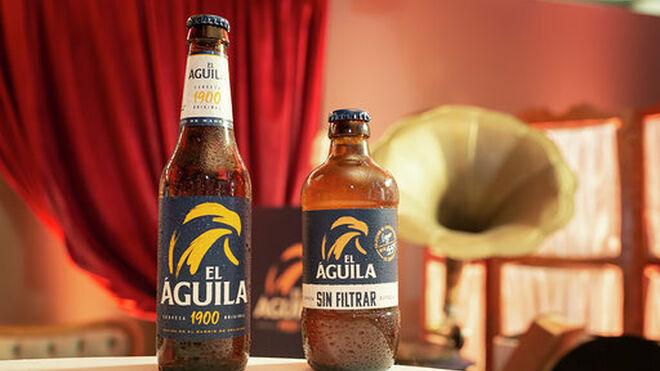El Águila vuelve a sus orígenes con su nueva cerveza sin filtrar