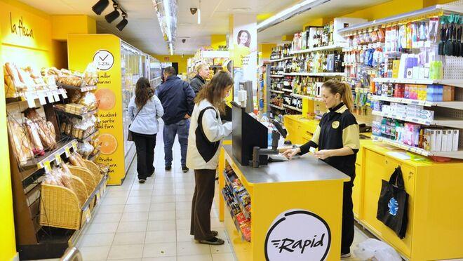 Caprabo extiende su modelo Rapid en Barcelona