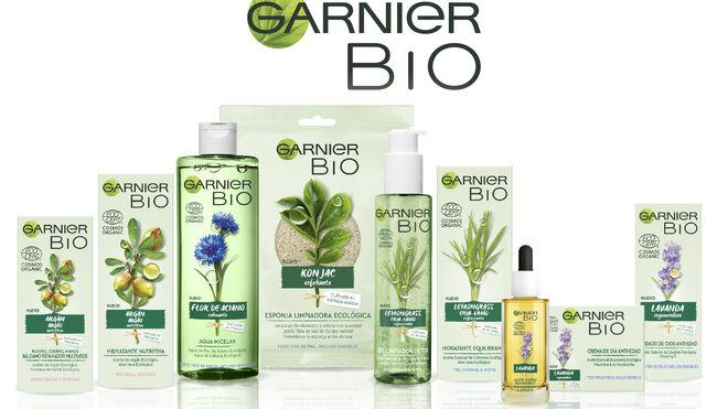 Garnier lanza su gama 'Bio': ecológica, vegana y pionera en el Gran Consumo