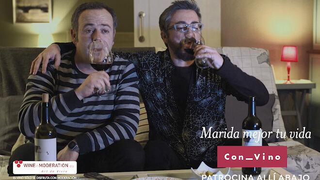 El vino protagoniza la quinta temporada de 'Allí Abajo'