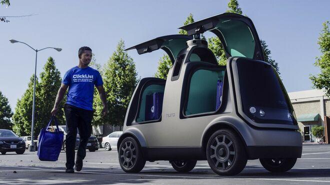 Nuro, el vehículo autónomo por el que apuesta el retail