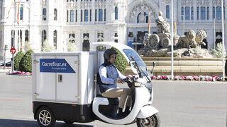 Carrefour revoluciona los repartos con su vehículo inteligente