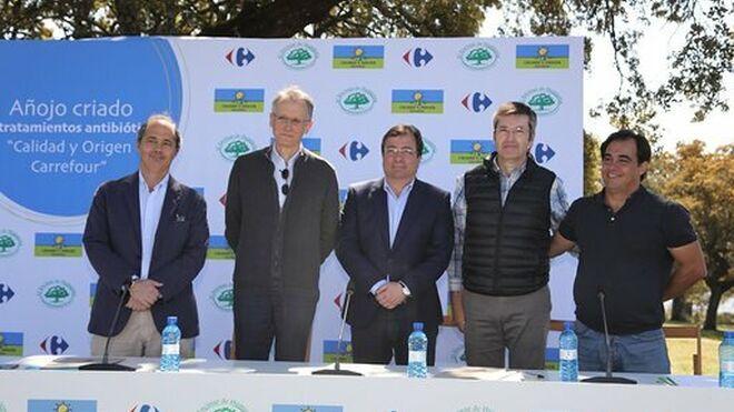 Carrefour lanza el primer añojo criado desde el nacimiento sin antibióticos