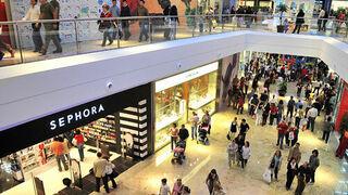 Caen las visitas a los centros comerciales en marzo