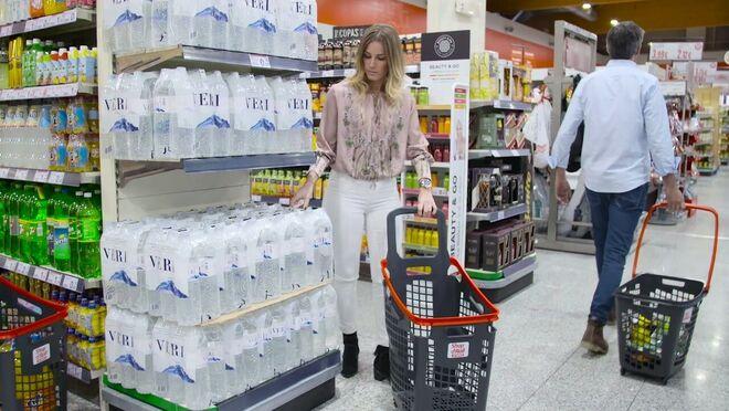 El carro y la cesta de la compra, claves en las ventas del súper