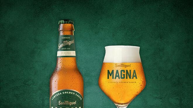 Magna de San Miguel: Golden Lager con extra de sabor