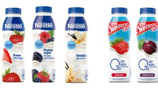 Sveltesse y Nestlé amplían sus gamas de yogures bebibles