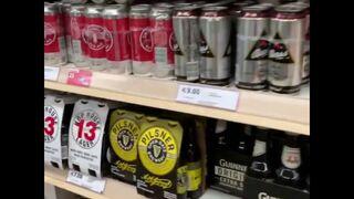 Tesco sí sabe lo que es un buen lineal de cervezas