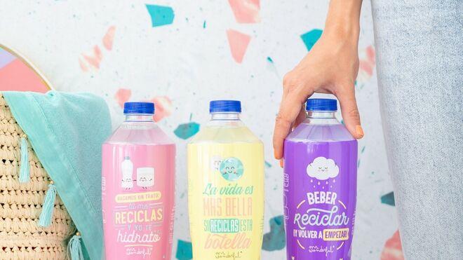 Nestlé lanza su primera botella de PET reciclado con 'mensaje'