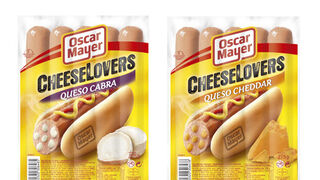 Oscar Mayer lanza sus Cheeselovers