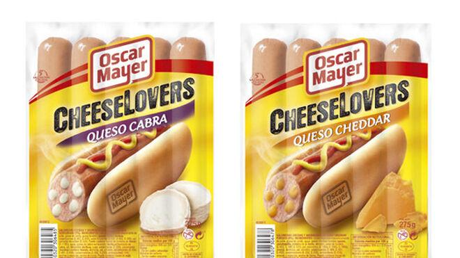 Oscar Mayer lanza sus Cheeselovers