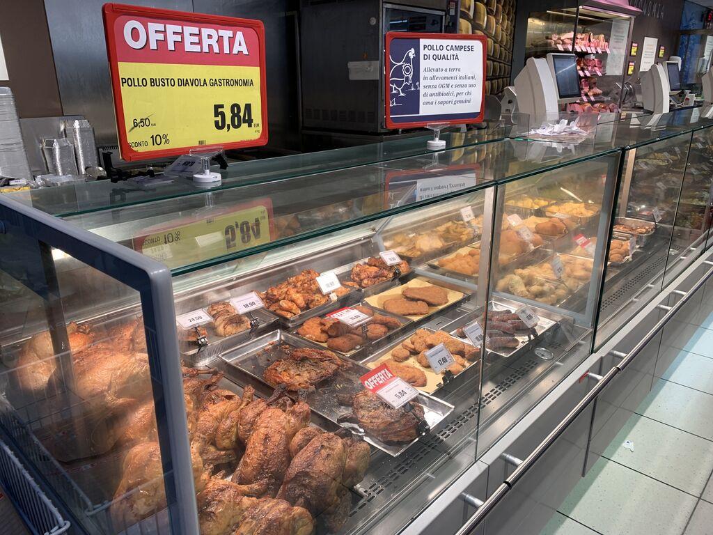 Tienda Spar en Bolonia