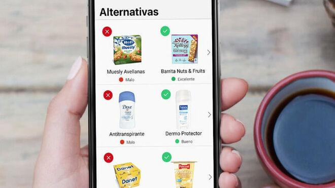 Llega a España Yuka, la app que dice si tu compra es saludable