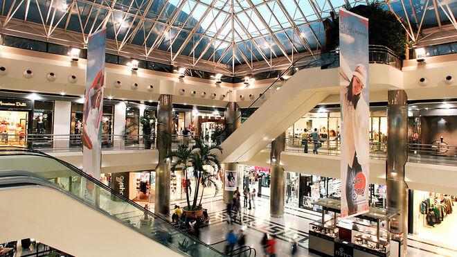 Caída de las visitas a los centros comerciales en mayo