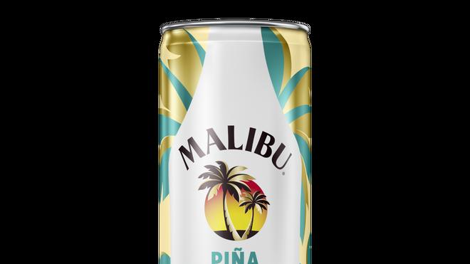 Malibu lanza su clásica piña colada en lata
