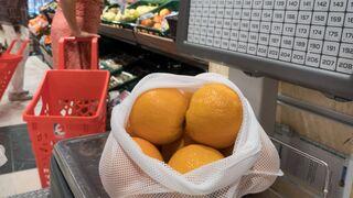 Eroski elimina las bolsas de plástico en la fruta y verdura a granel