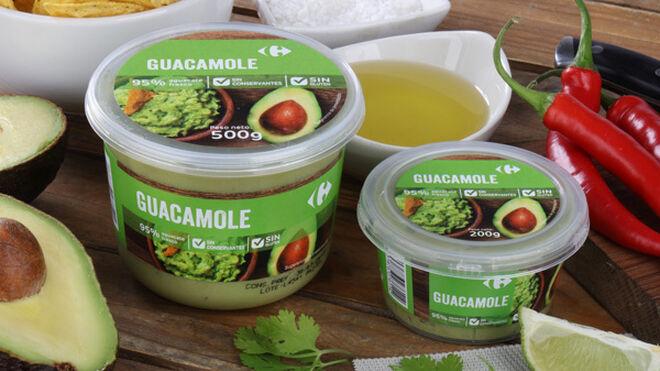 El distribuidor se pone verde: del guacamole de Carrefour a las algas de Alcampo