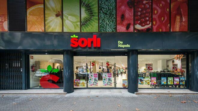 Llega a Sitges Sorli, el supermercado con gimnasio