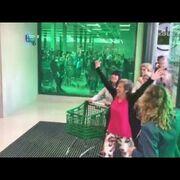 Locura por la inauguración del segundo supermercado Mercadona en Portugal