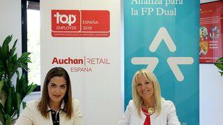 Auchan Retail España se suma a la Alianza para la FP Dual