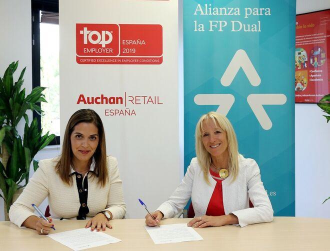 Auchan Retail Espana Se Suma A La Alianza Para La Fp Dual