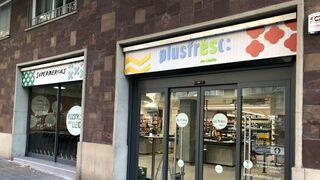 Plusfresc inaugura su tercera tienda en Barcelona