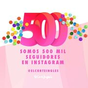 El Corte Inglés celebra sus 500.000 seguidores en Instagram