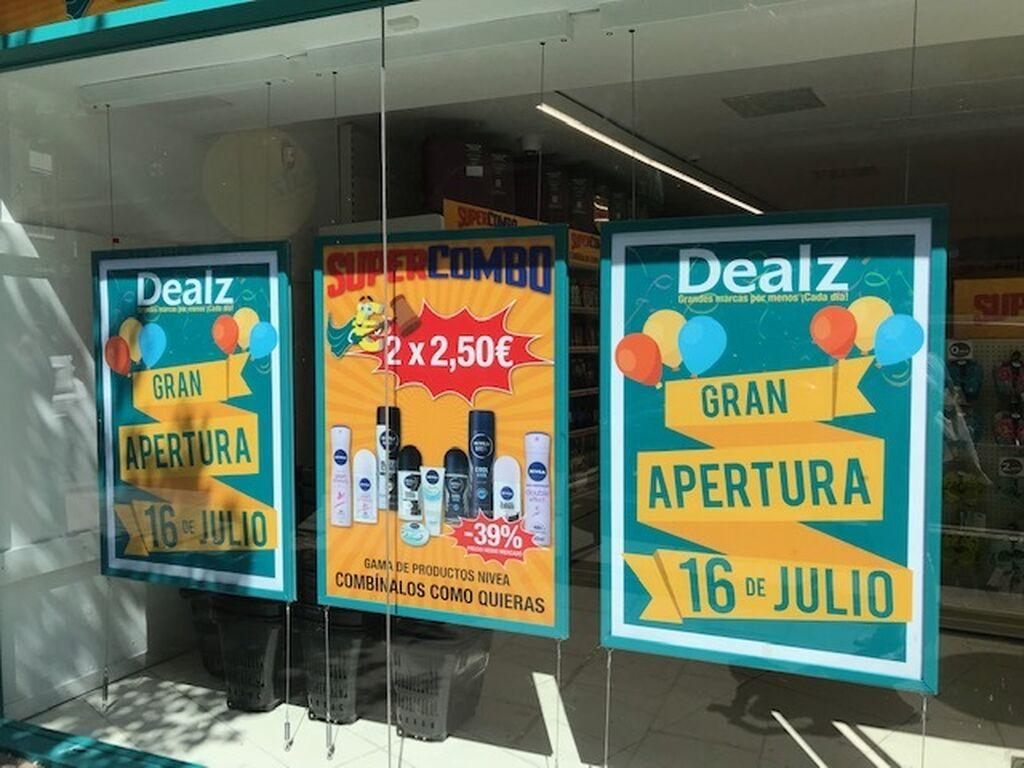 Nuevo supermercado Dealz en Madrid