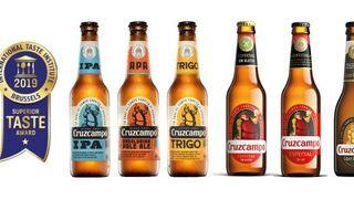 Seis variedades de Cruzcampo, premiadas por su sabor