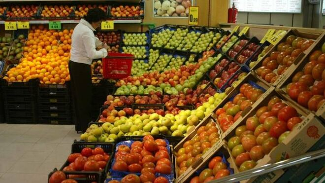 La IA llega a frutas y verduras en un súper belga