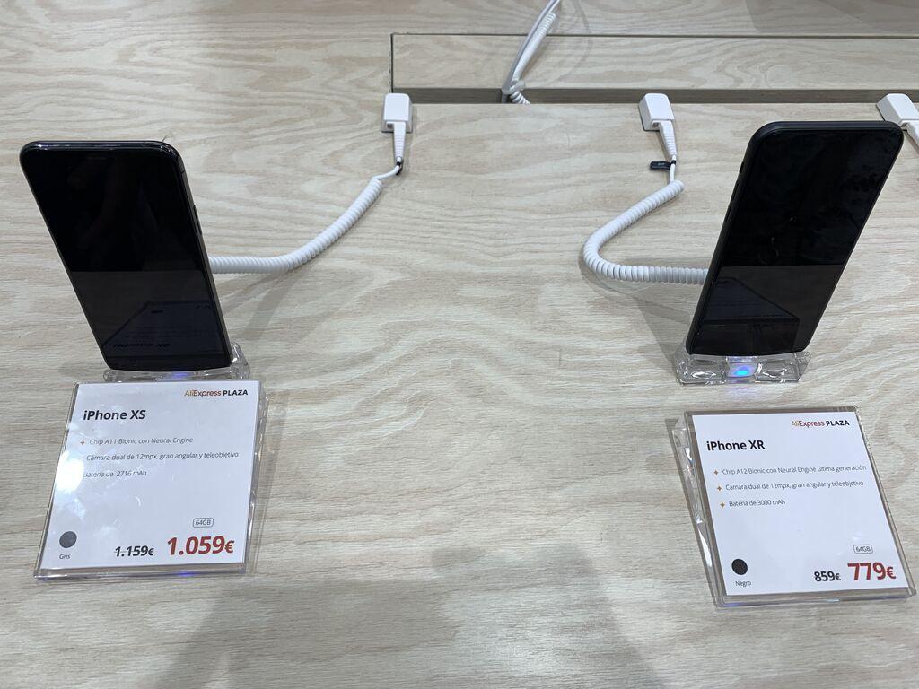 Los últimos iPhones con descuento en AliExpress Plaza!