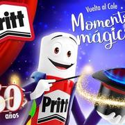 Pritt celebra sus 50 años y prepara la 'vuelta al cole'