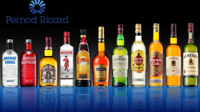Pernod Ricard aumentó sus ventas el 6% en su último ejercicio fiscal