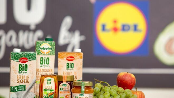 Lidl encabeza el mercado de ventas bio en España