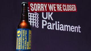 Nace la 'cerveza protesta' contra Boris Johnson