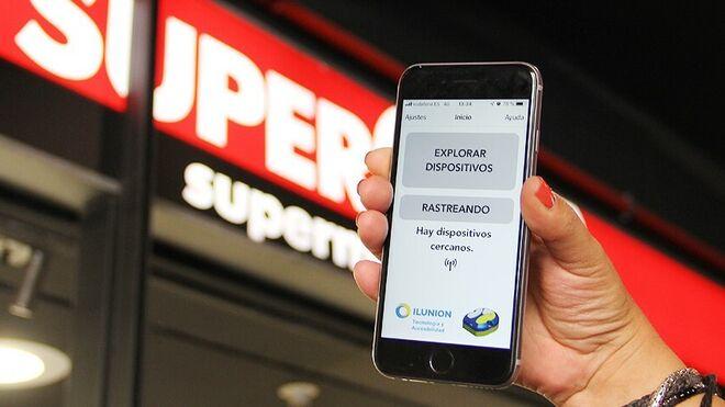 Supercor instala 'beepcons' para hacer más accesible la compra