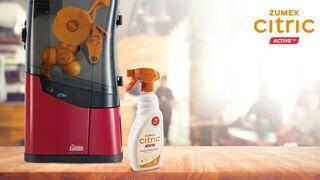 Zumex lanza el primer limpiador para exprimidoras profesionales