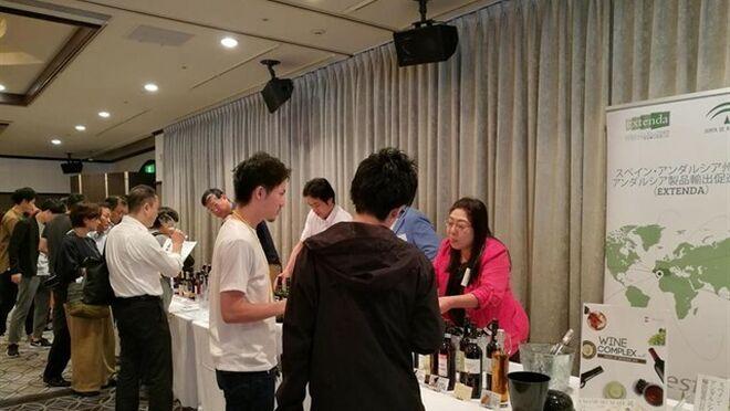 Seis bodegas andaluzas se promocionan en Japón