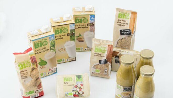 Carrefour suma ya más de 2.000 productos bio